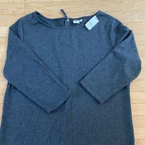 New Gap Knit Dress XL Charcoal